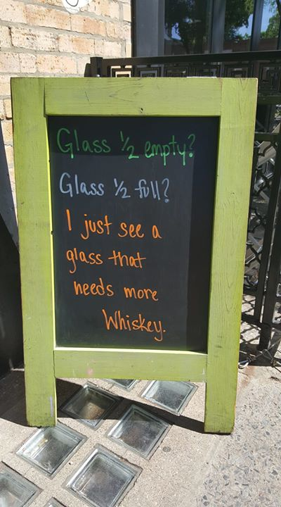 Come fill your glass