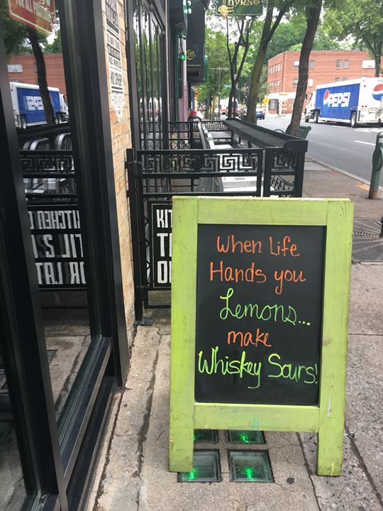 Come to Local Whiskey to help get you through your week.