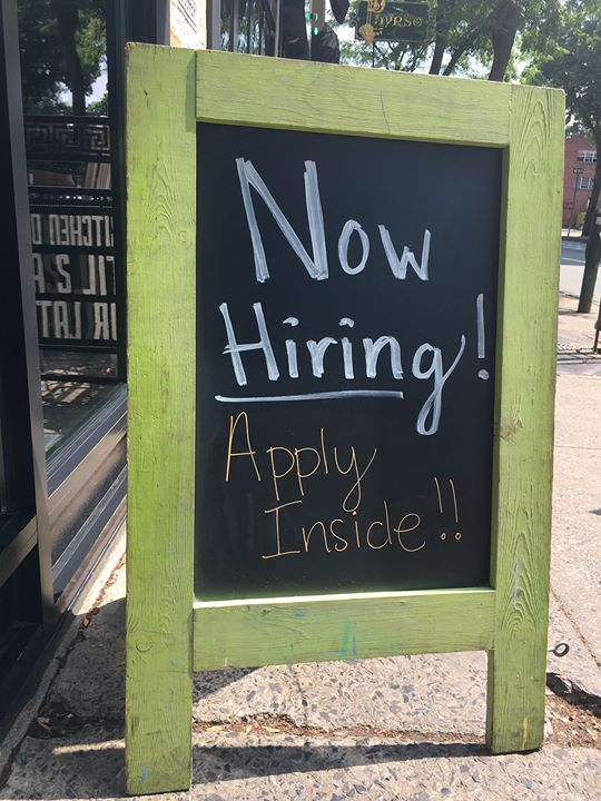Now hiring all those who like to have a blast