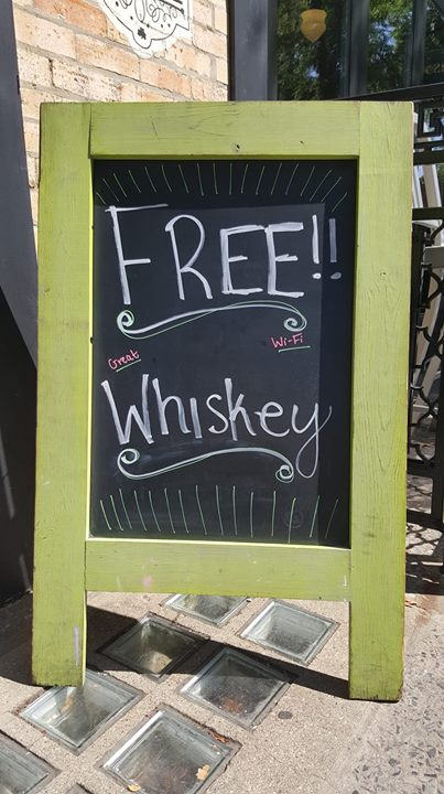 FREE WiFi & GREAT whiskey