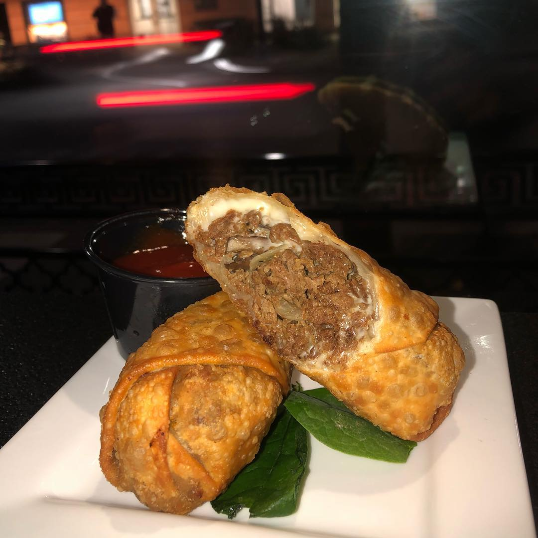 NOW AVAILABLE!! The wait is finally over! Our Cheesesteak Eggrolls are now back on the menu, and cheesier than ever! If you've had the craving, we've now got your fix! Stop in for one today! ••• #cheese #cheesesteak #cheesesteakeggrolls #onions #mushroom